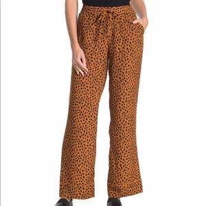 NWT Joie Daltona Cheetah Drawstring Pants